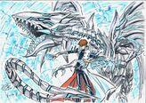 """Kaiba y """"Dragón Blanco Alternativo"""" por Kagami"""