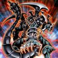 Foto dragón armado oscuro