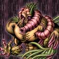Foto la perversa bestia-gusano