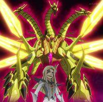 Neo dragón taquiónico de ojos de galaxia y Mizar