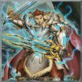 Foto noble caballero sagrado del rey artorigus