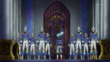 Sora y las Fuerzas Obelisco