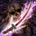 Foto espada de bambú devoradora de almas