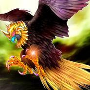 Foto ojo de águila