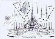 Palacio del Duelo arte conceptual