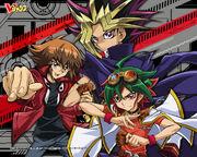 Yugioh Duel Monsters-GX-Arc V Crossover