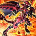 Foto dragón de nova roja