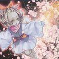 Foto flor de ceniza & primavera feliz