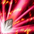 Foto impacto de meteoro de hada