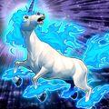 Foto unicornio de la luz solar