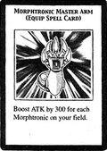 Brazo maestro morfotrónico