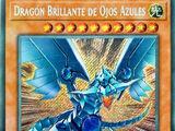 Dragón Brillante de Ojos Azules