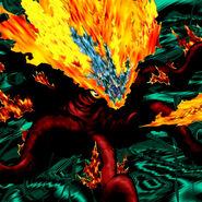 Foto kraken de fuego