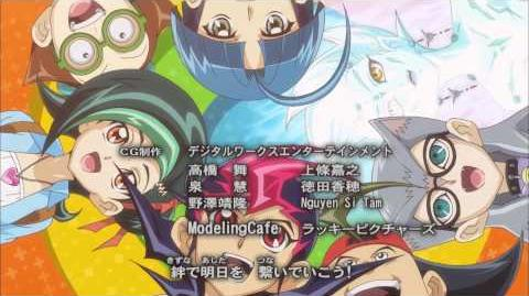 Yu-Gi-Oh! ZEXAL Japanese End Credits Season 3, Version 2 - Challenge the GAME by REDMAN