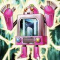 Foto célula de energía de hombre pila