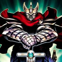 Foto comandante gottoms, maestro de la espada