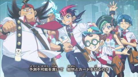 Yu-Gi-Oh! ZEXAL Japanese End Credits Season 2, Version 1 - Wild Child by moumoon