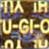 Eye of Anubis Hologram-Gold