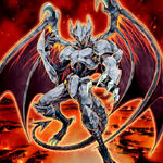 Foto héroe malvado gaia oscuro