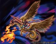 Gaia Señor, el Caballero Feroz (ilustración promocional)