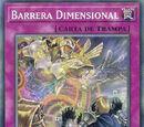 Barrera Dimensional