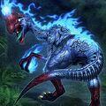 Foto oviraptor devorando almas