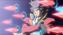 """Yusho activando """"Espadas Retenedoras de Impacto"""""""