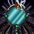 Foto espejo de mano de hada