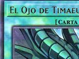 El Ojo de Timaeus