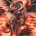 Foto cicaluz dragón rojo archidemonio