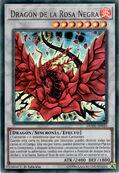 Dragón de la rosa negra
