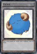 Ficha de oveja (azul)