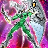 Foto héroe elemental phoenix enforcer brillante