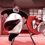 Foto panda maji-gire