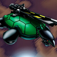 Foto tortuga catapulta
