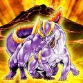 Foto dragón de lava