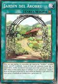 Jardín del arobru