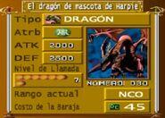 Dragón Mascota de Arpía The Duelists of the Roses