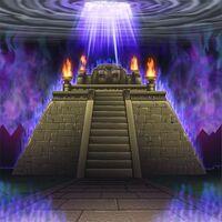 Foto altar de la deidad atada