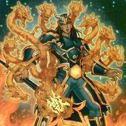 Foto hermandad del puño de fuego - dragón