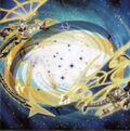Foto cinturón de constelación