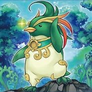 Foto avatar del espíritu bestia pingüinero
