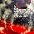 Foto la cosa en el cráter