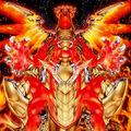 Foto señor supremo dragón solar hierático de heliópolis