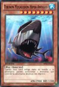 Tiburón megalodón híper-antiguo
