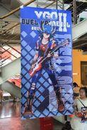 Yu-Gi-Oh! II Duel Carneval 2015 Poster de Yusei
