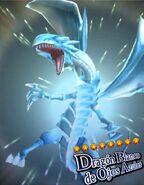 Dragón Blanco de Ojos Azules Invocación Duel Links