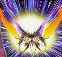 Foto ala de la llamarada taquiónica