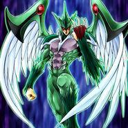 Foto héroe elemental avian