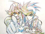 Ebina Hidekazu Sawatari y Yugo capítulo 72